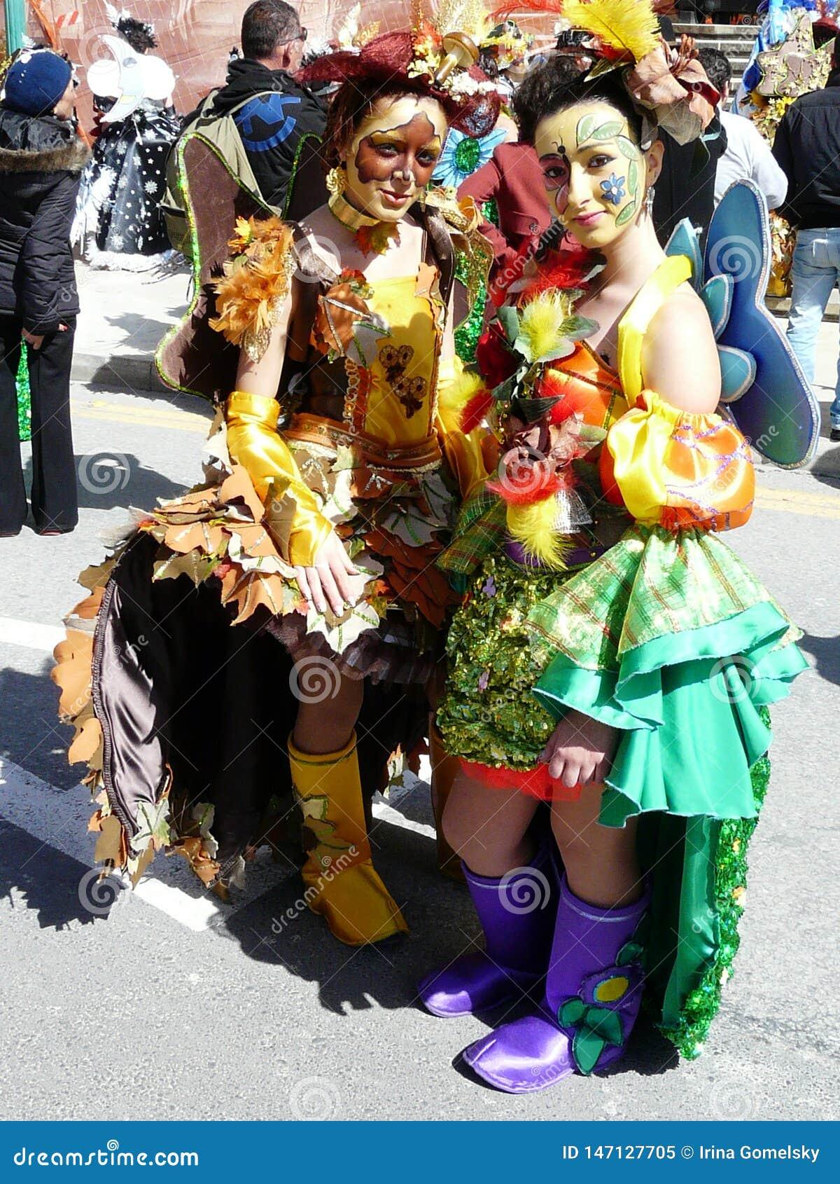 Tradycyjny wiosna karnawał w Malta
