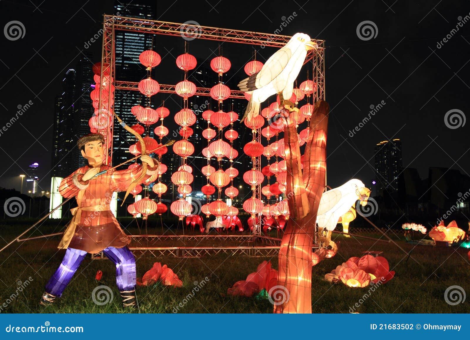 Tradycyjnych Chińskie lampiony, Hong Kong