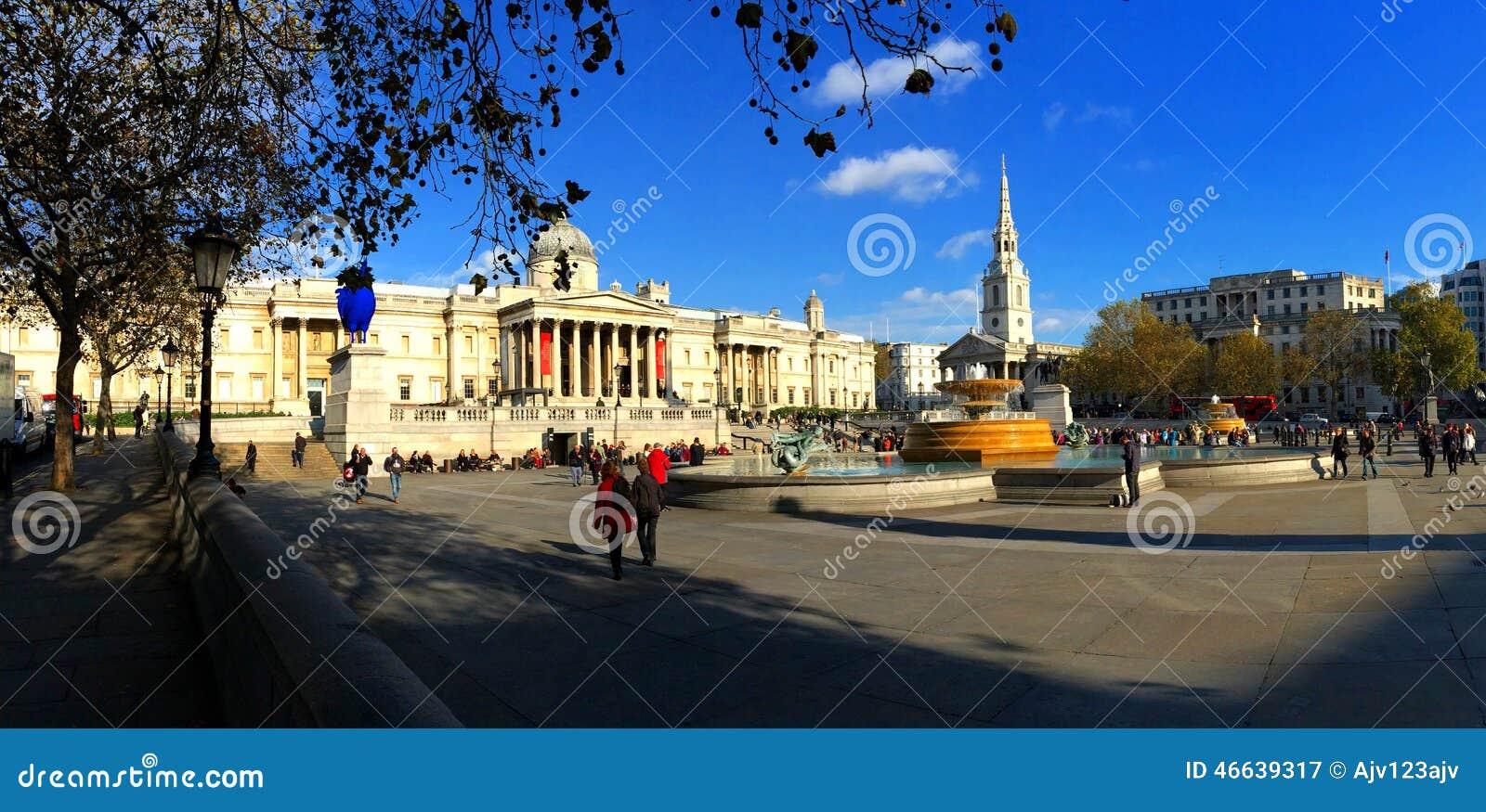 Trafalgar Square Londres Inglaterra