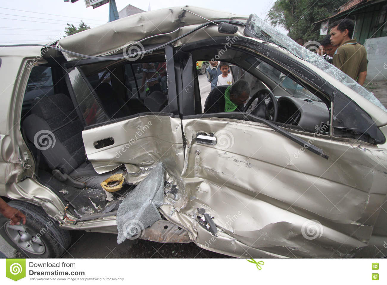 Traffic accidents due to driver negligence