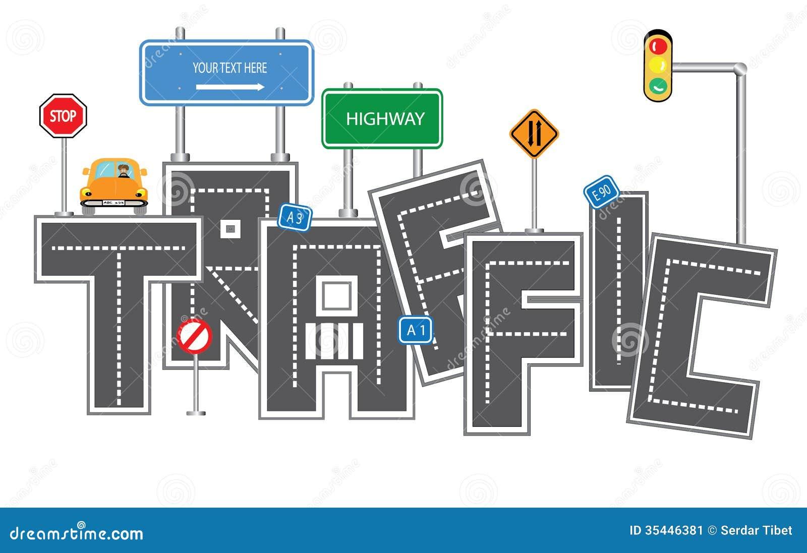 Traffic Concept Stock Image Image 35446381