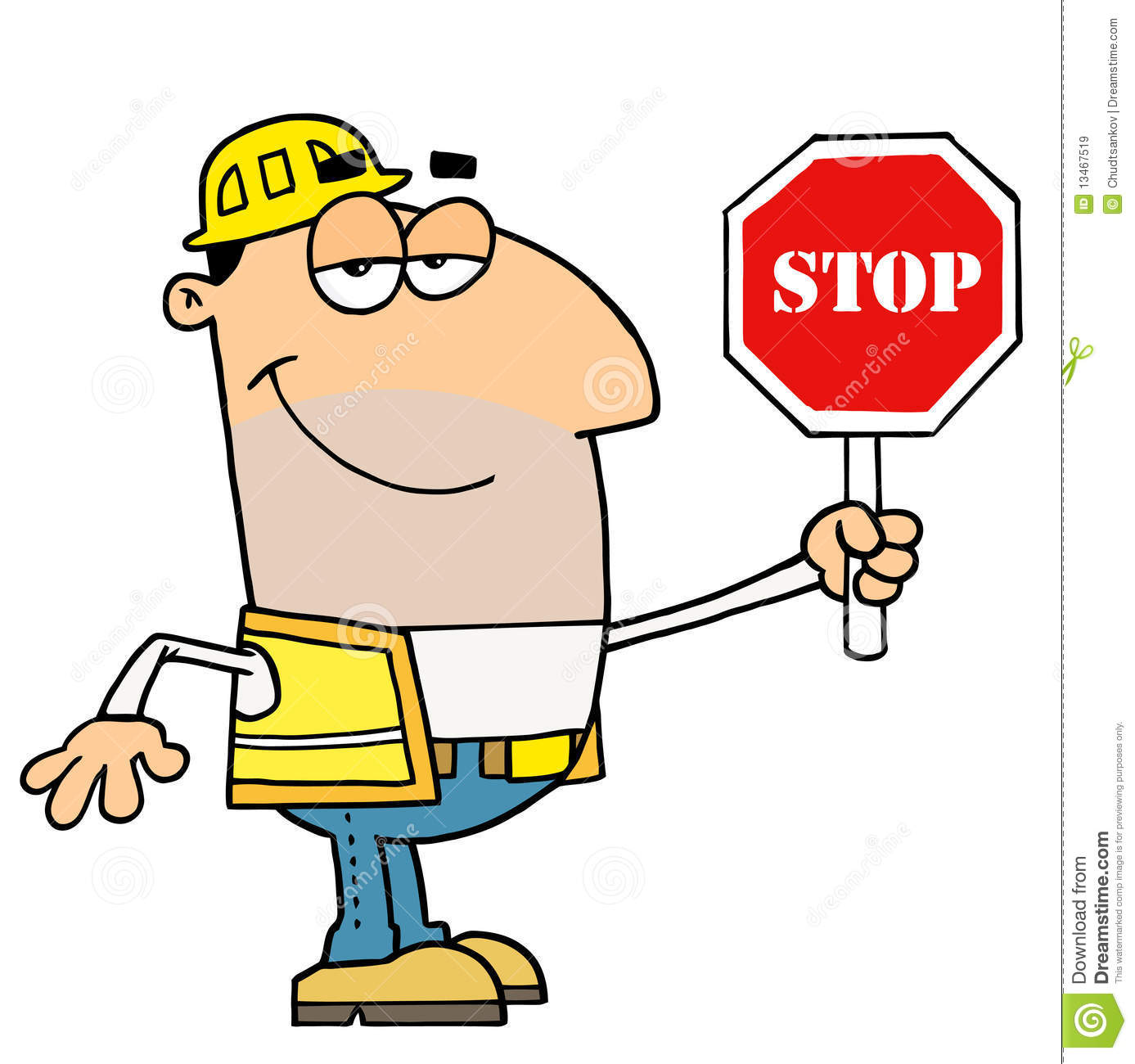 Traffic Director Royalty Free Stock Images