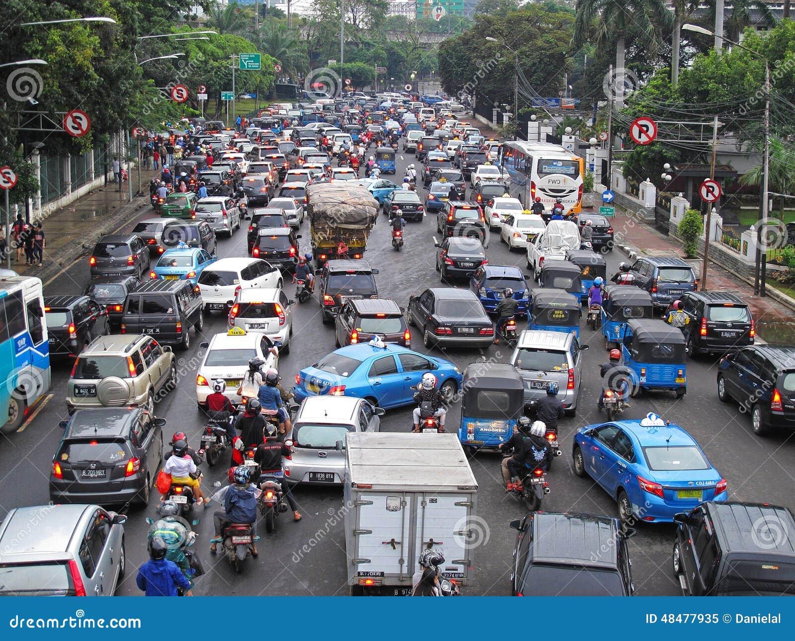 jakarta indonesia traffic - photo #11