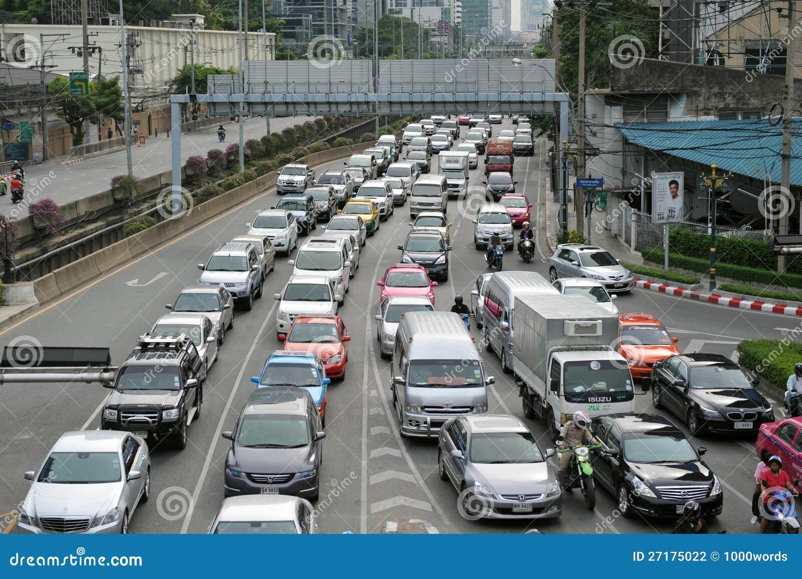 body traffic jam