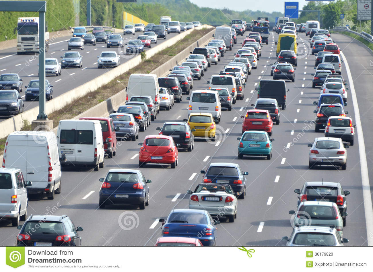 traffic-jam-german-highway-current-discu