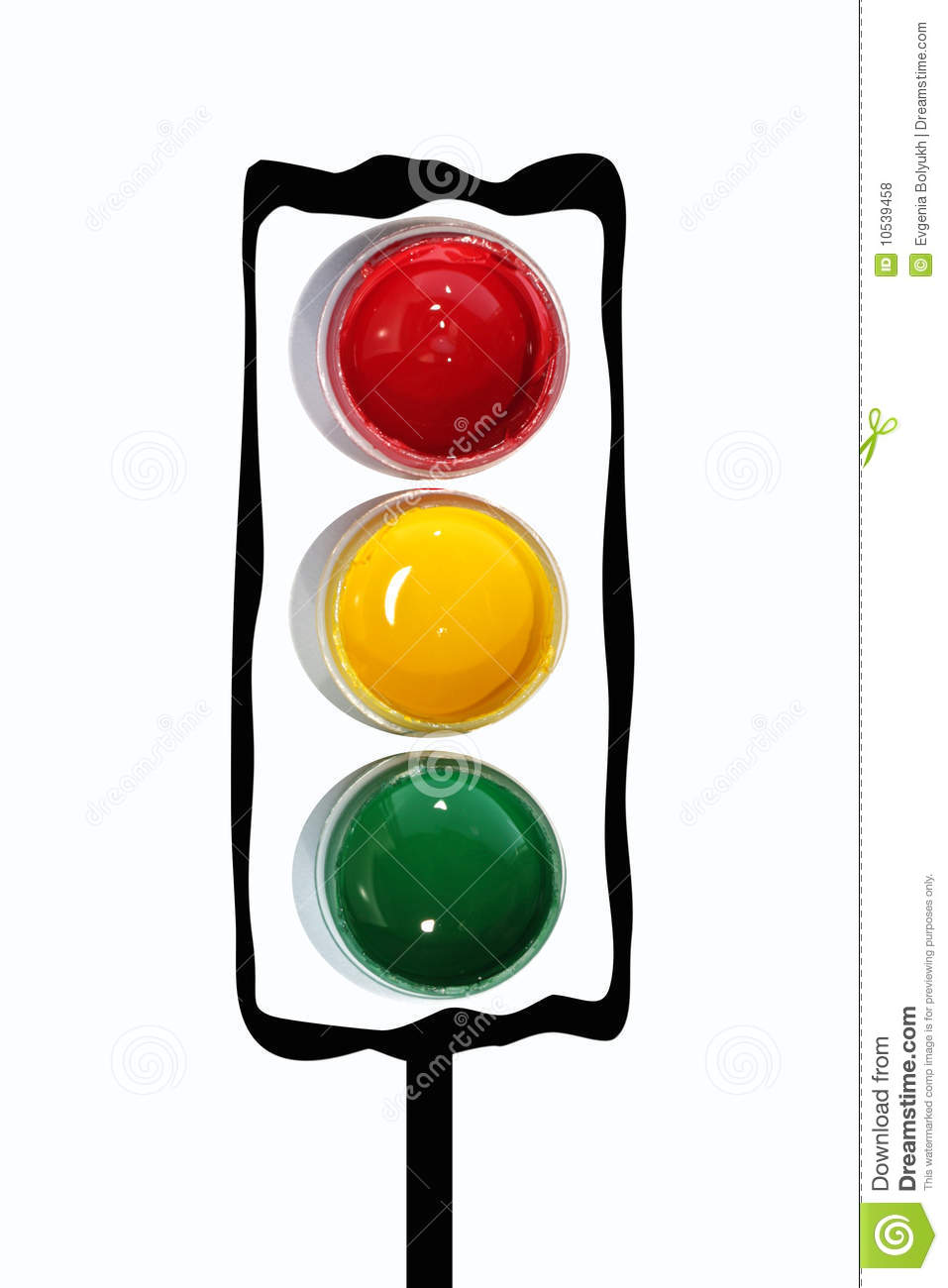 Traffic Light Royalty Free Stock Photos Image 10539458