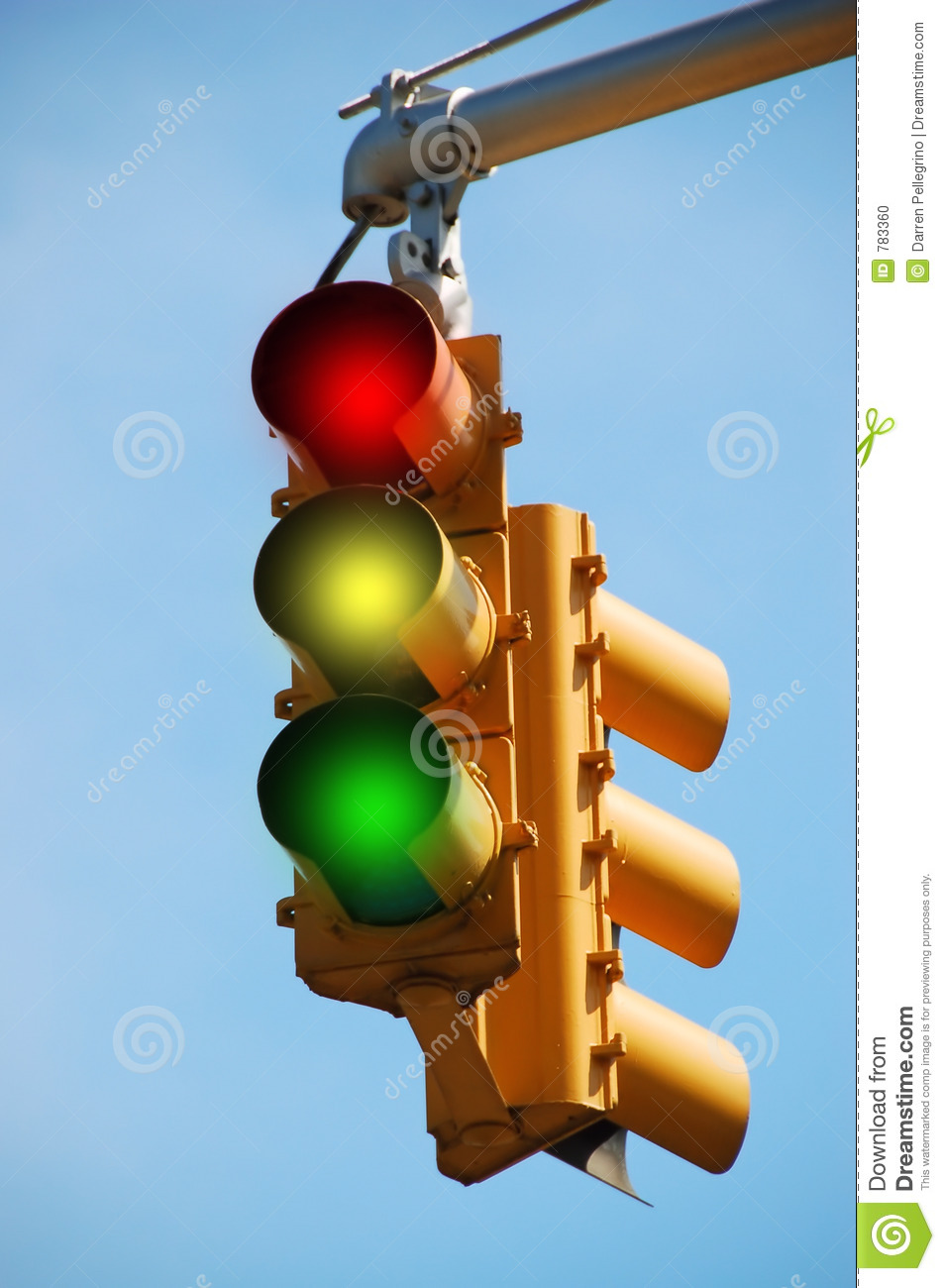 Traffic Light Stock Photo - Image: 783360