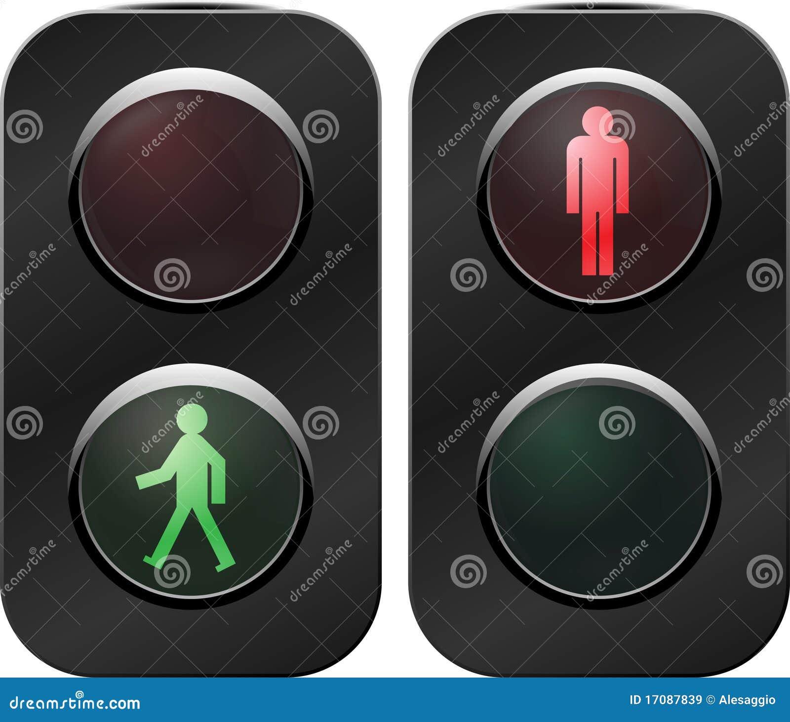 Traffic light crosswalk