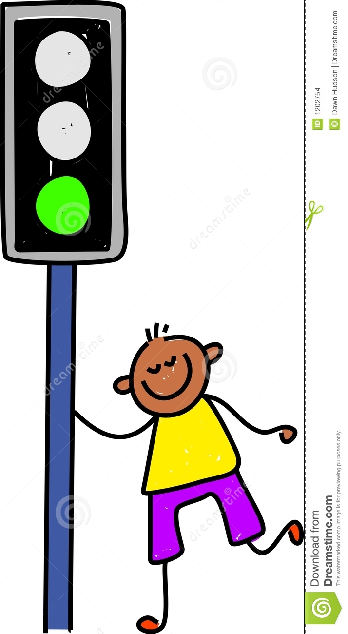 Traffic light kid