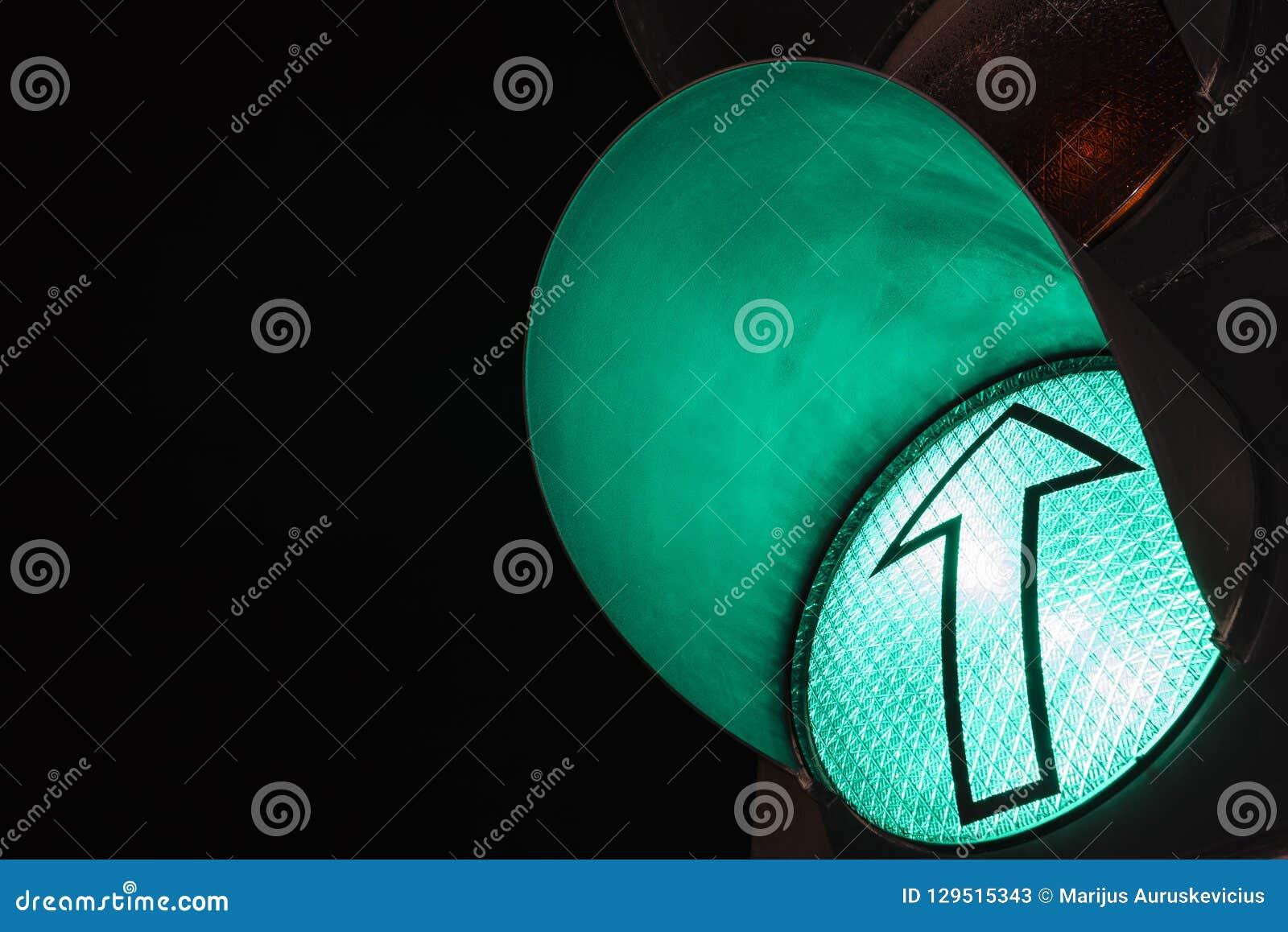 Traffic lights – green