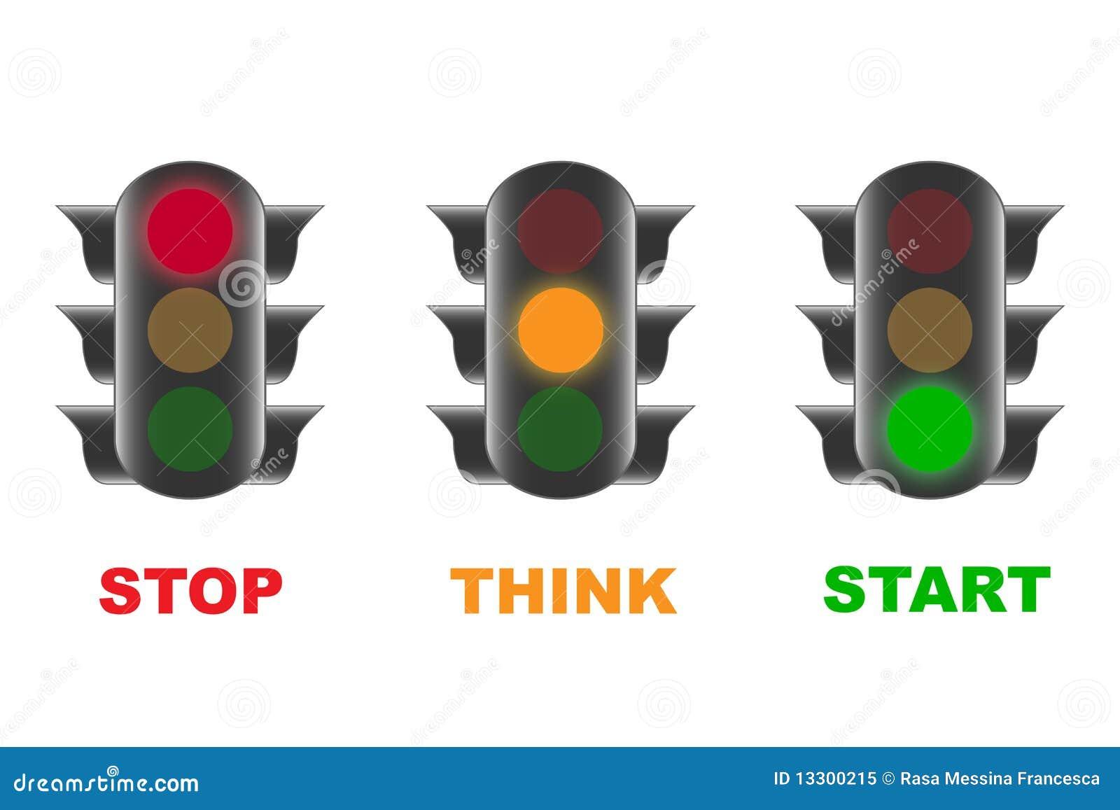 Hanging Traffic Light Clip Art