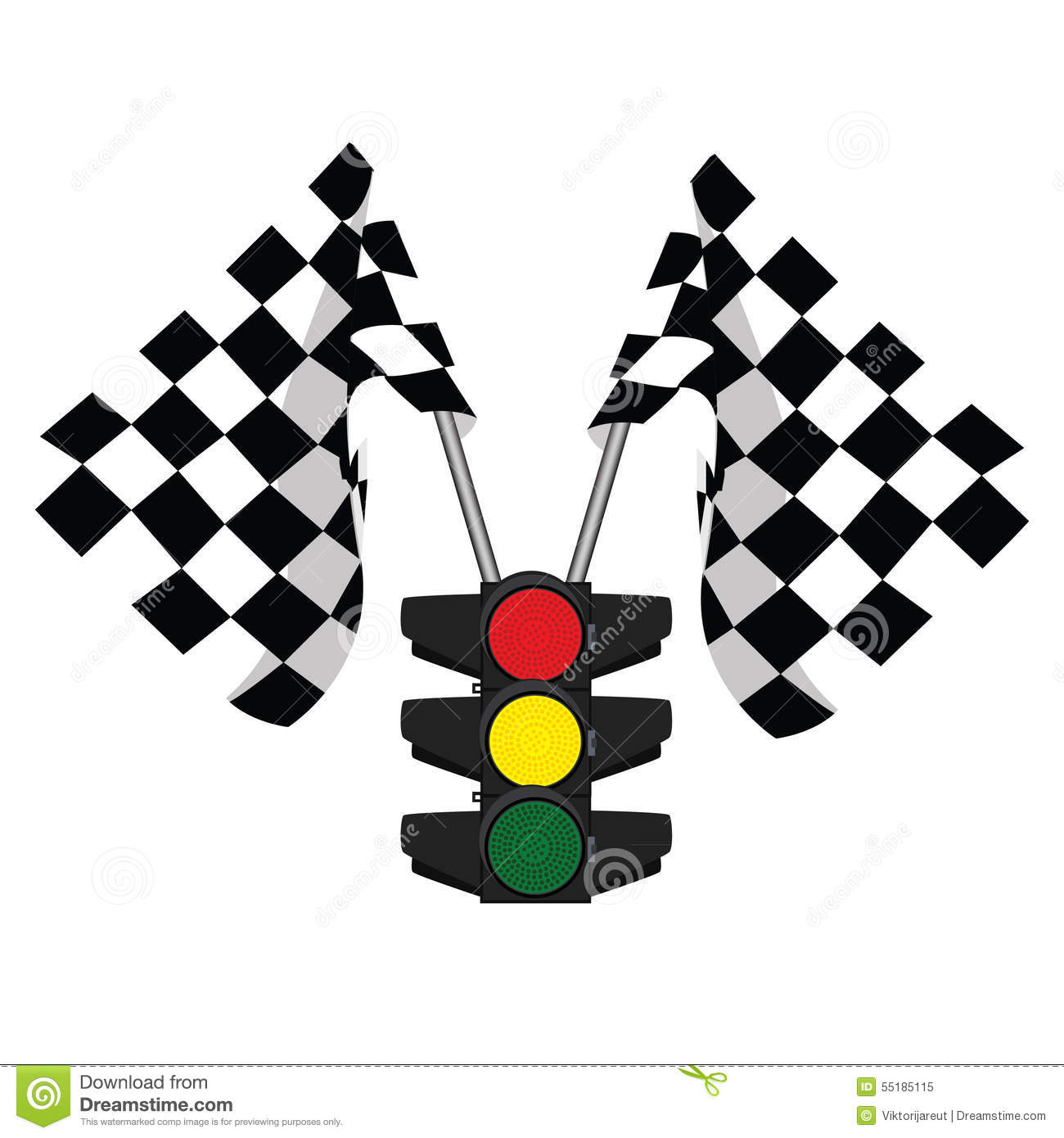 traffic lights and finish  start flag stock illustration checkered flag clip art png checker flag clip art