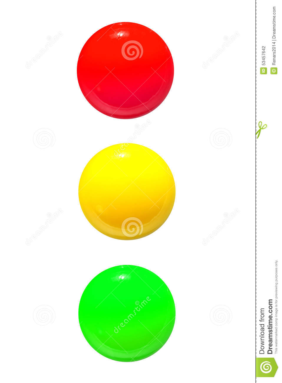 Traffic Lights Icon Red Yellow Green Stock Photo - Image of yellow ... for Traffic Light Red Icon  288gtk