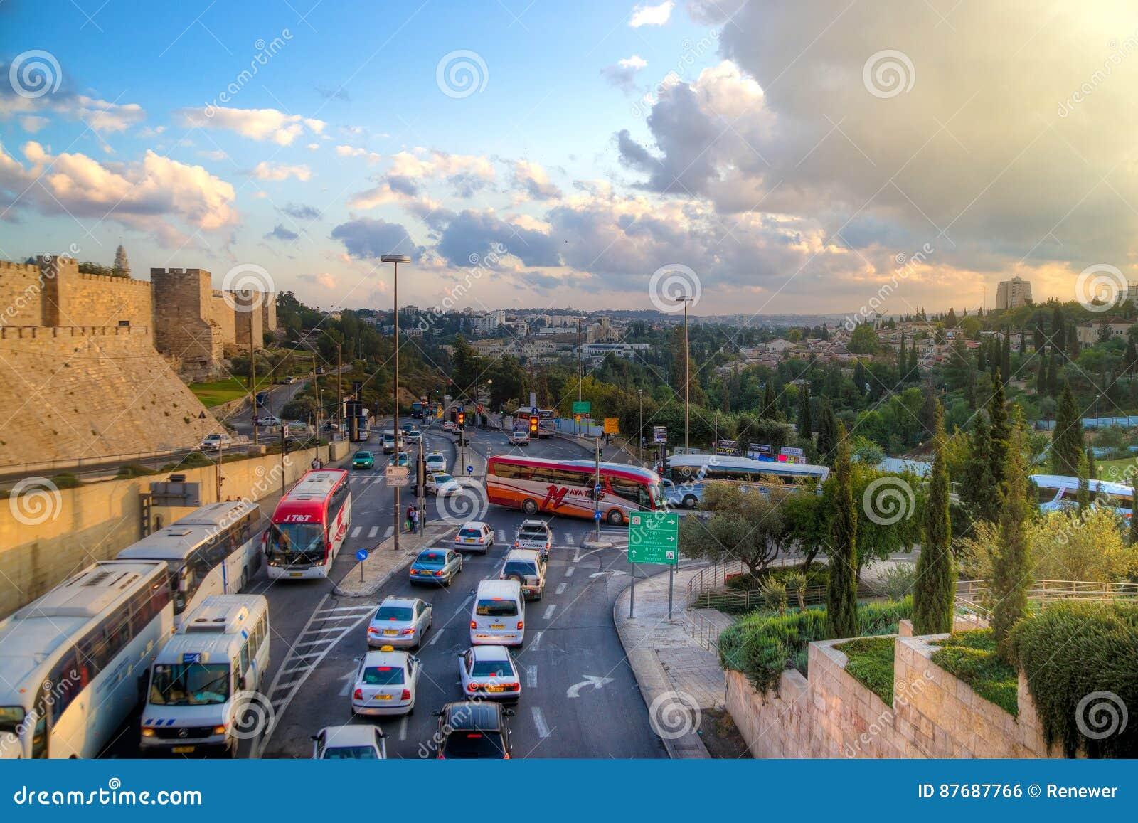 Jerusalem on a map - Jerusalem on the map (Israel)   Cities Surrounding Jerusalem