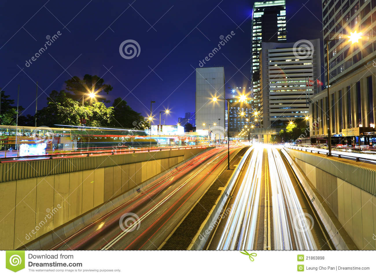 traffic at night by - photo #16