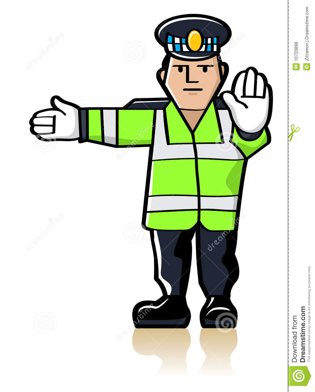 Traffic Officer Royalty Free Stock Photos