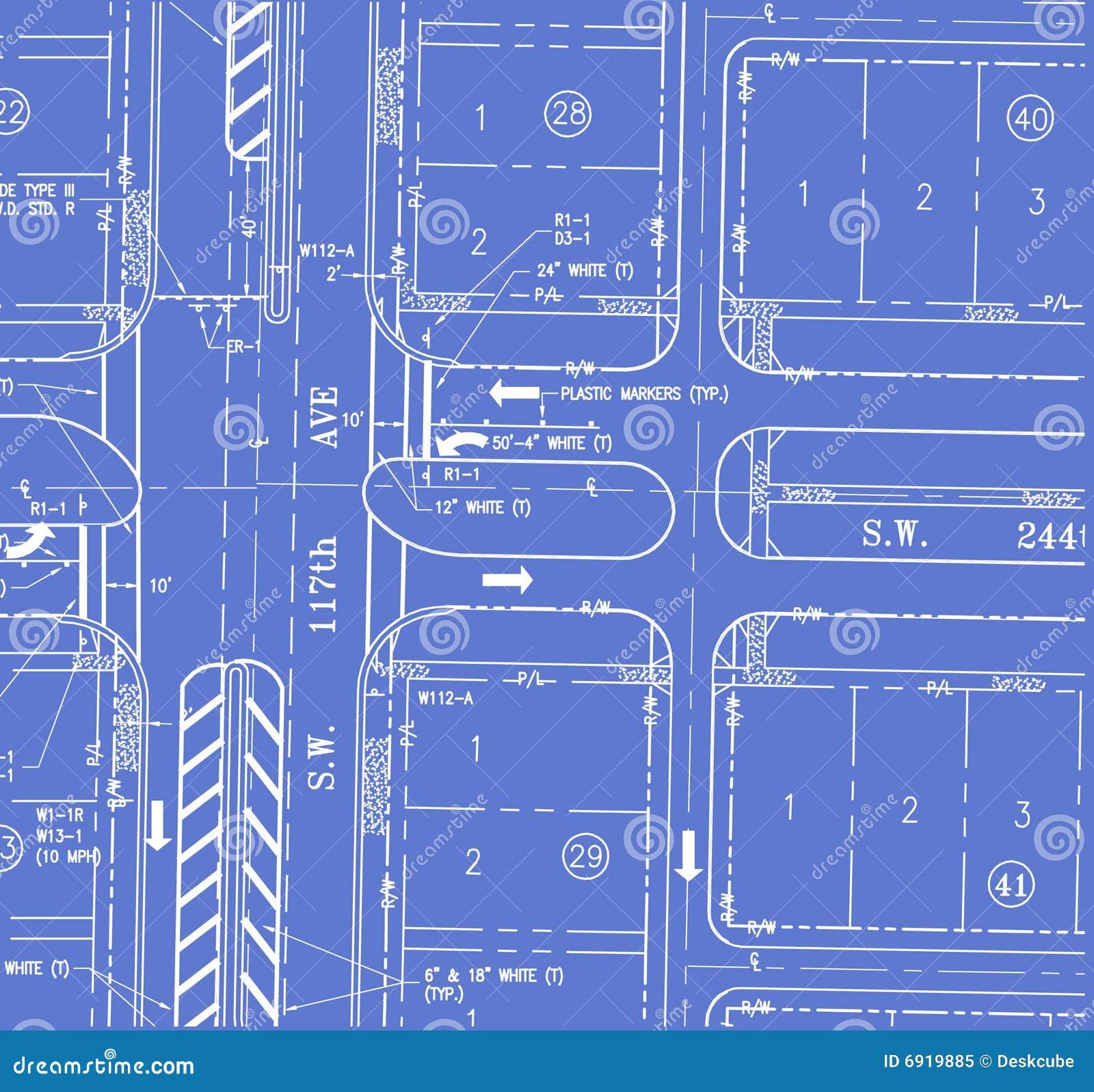 Traffic plan blueprint