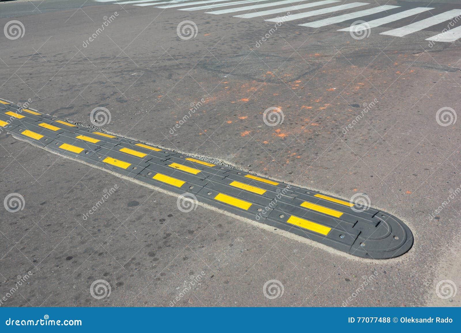 how to make a speed bump asphalt