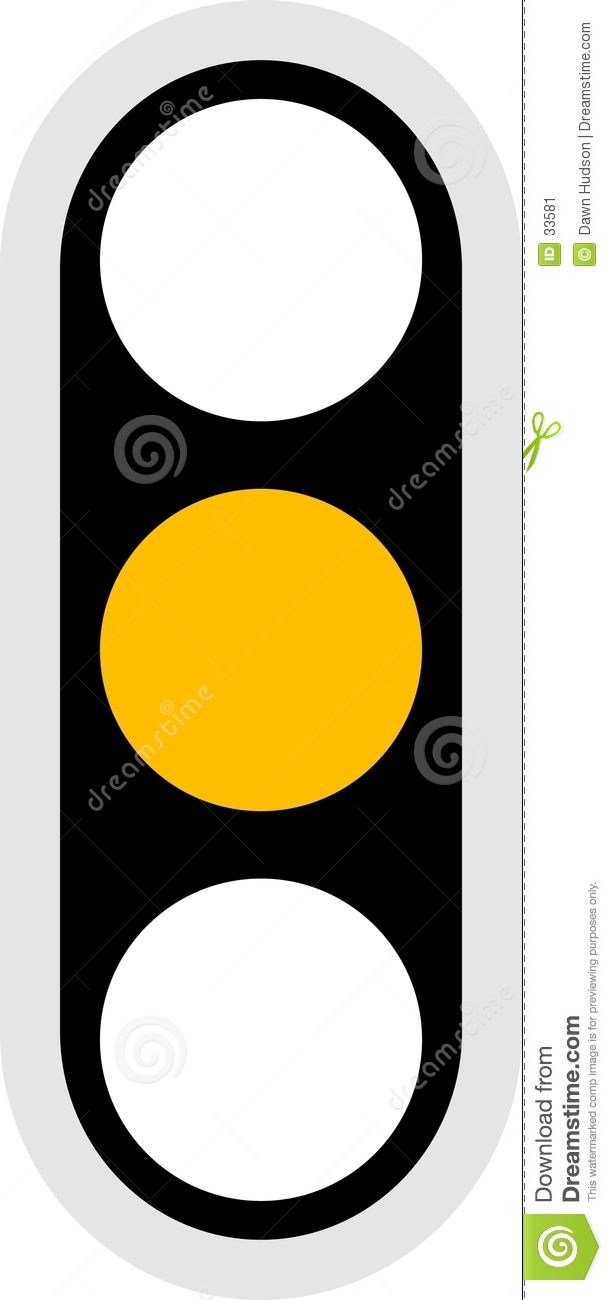Traffic Signal Icon stock vector. Illustration of amber - 33581 for Traffic Light Yellow Icon  15lptgx