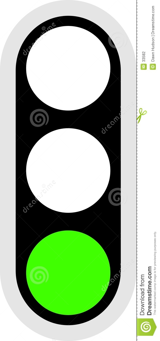 Traffic Signal Icon stock vector. Illustration of light - 33582 for Traffic Light Green Icon  569ane