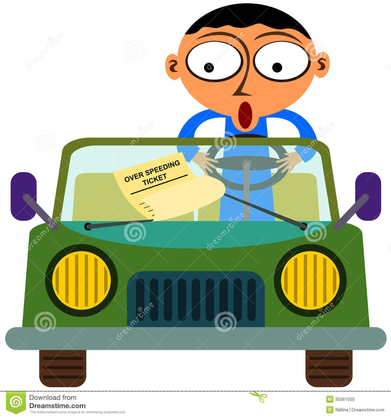 Speeding Ticket App >> A Traffic Ticket Stock Photo - Image: 35561030