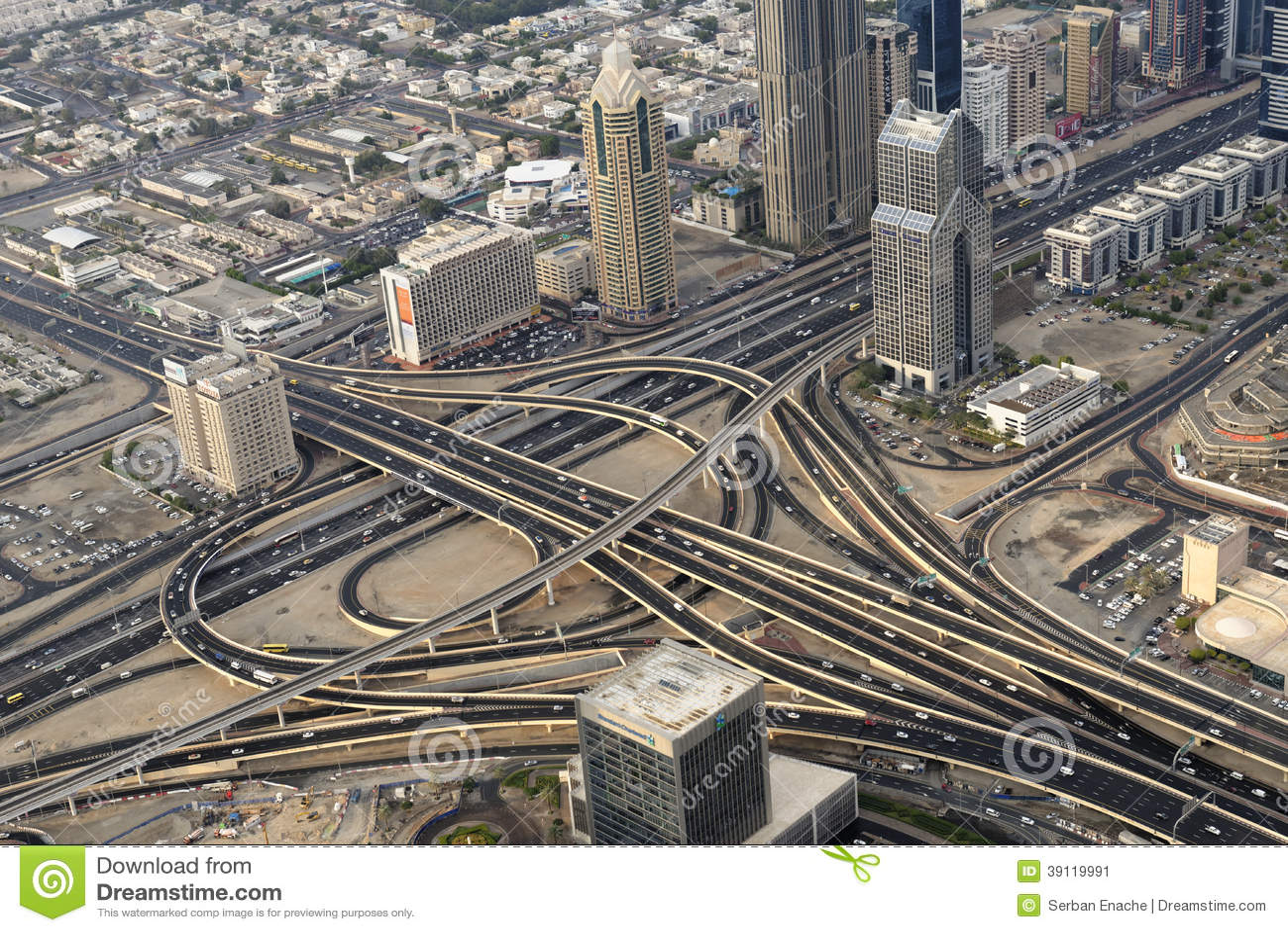 Traffico del Dubai