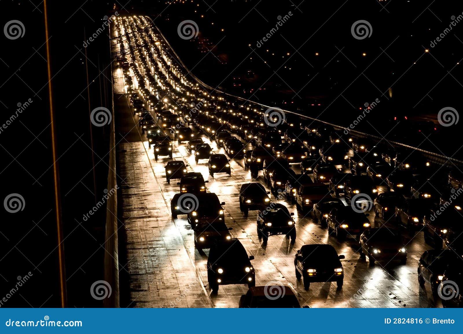 Traffico di notte