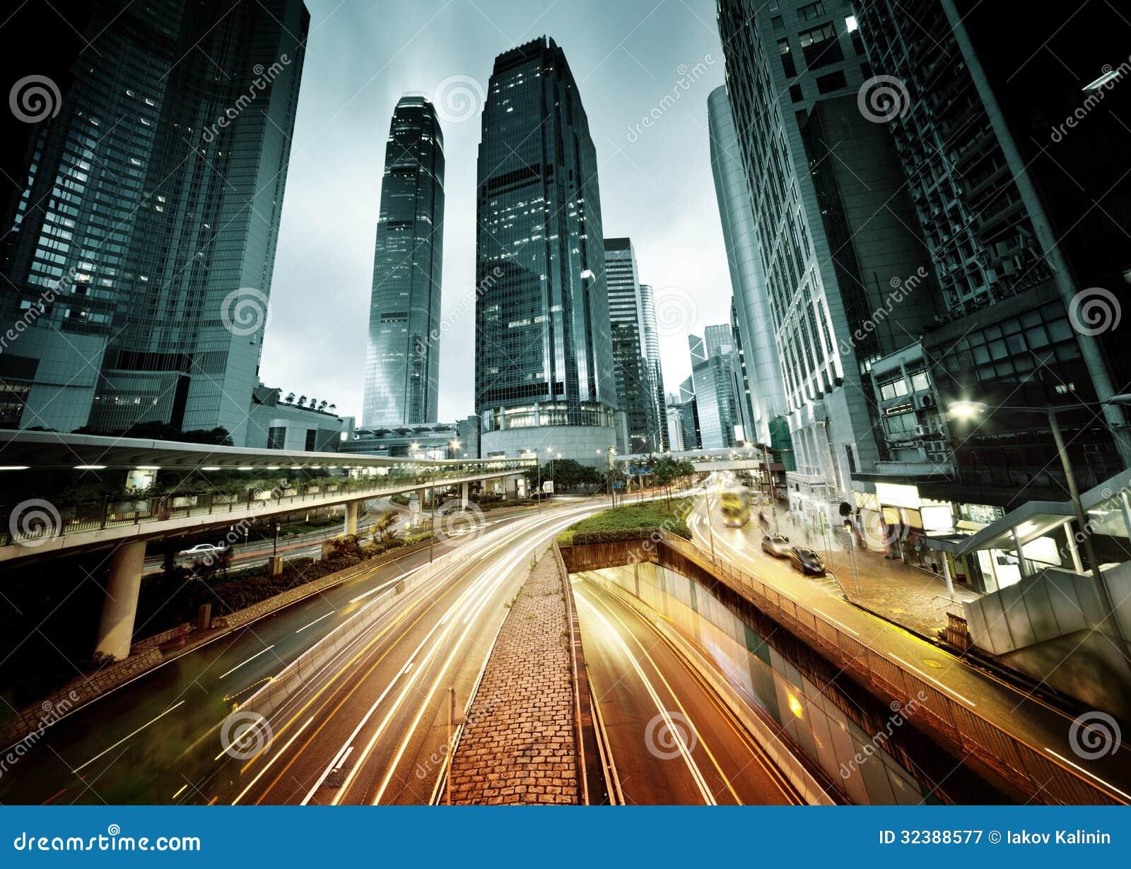 Traffico in Hong Kong