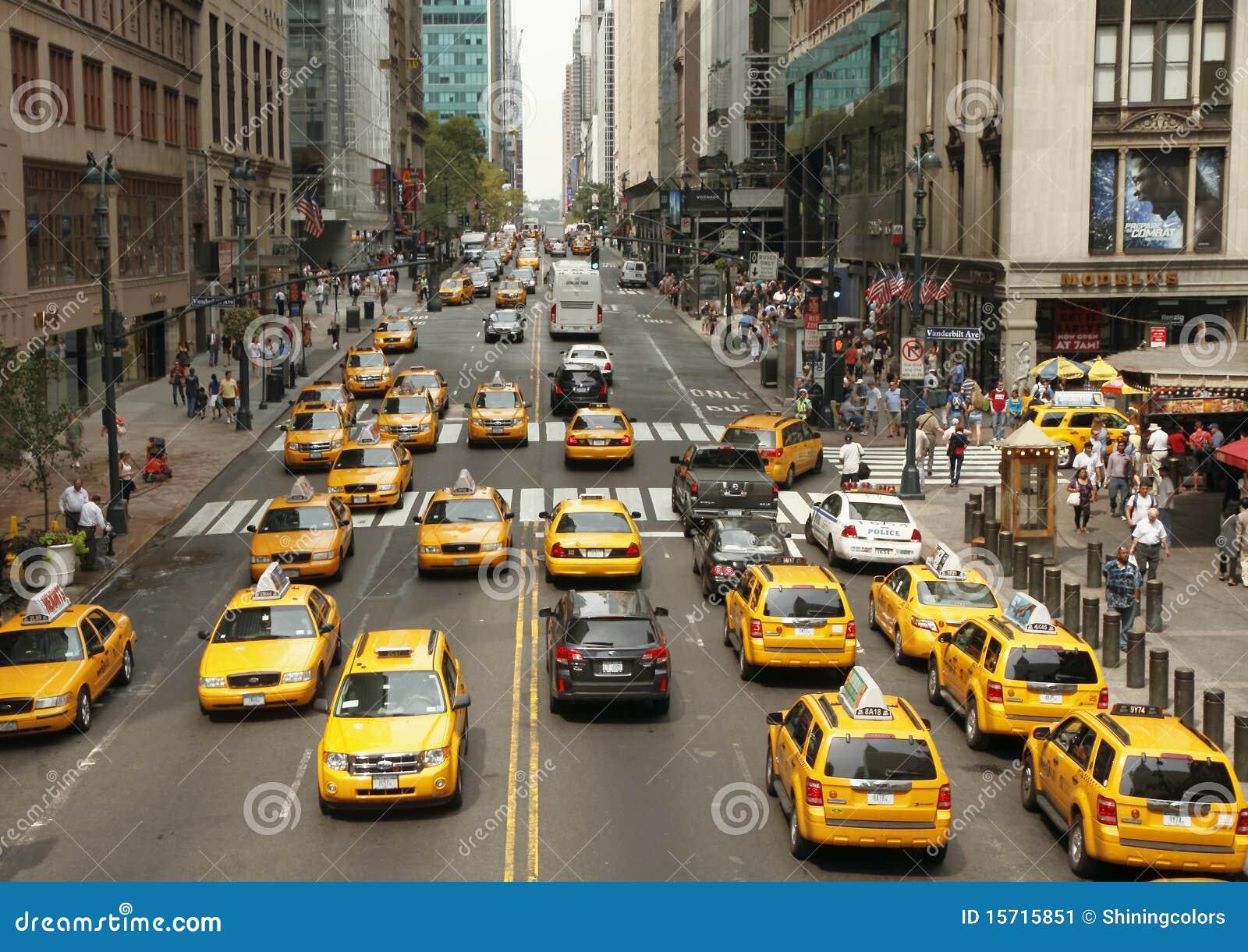 Traffico a New York