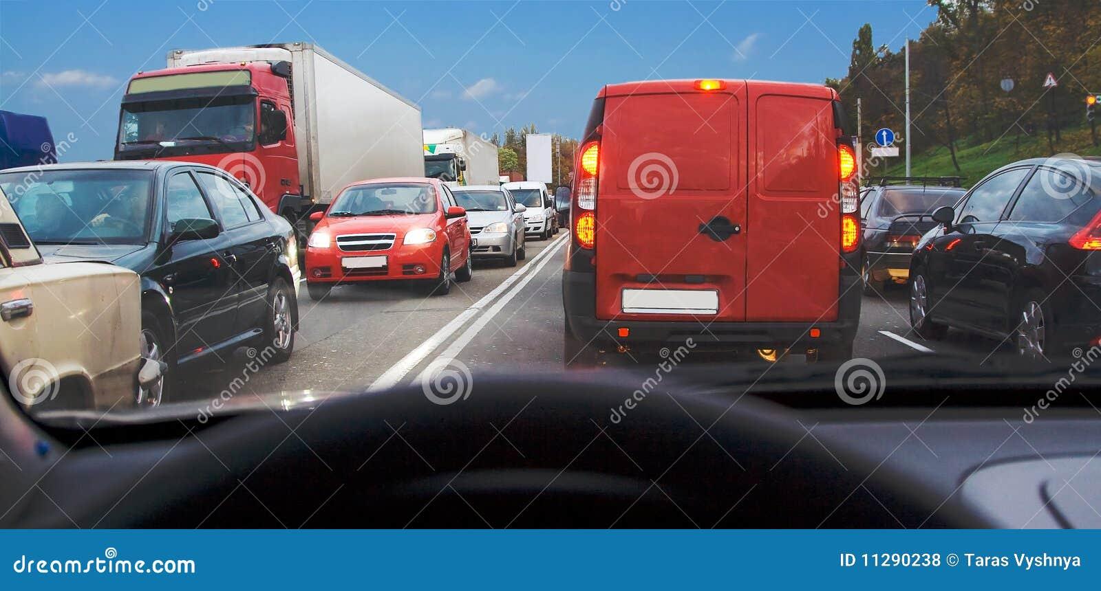 Trafik för bilinsidadriftstopp