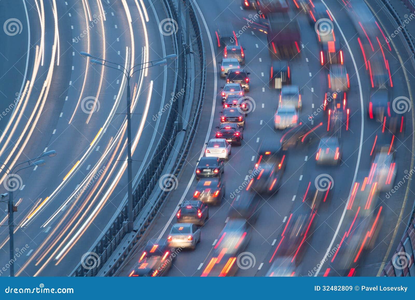 Trafik på huvudvägen