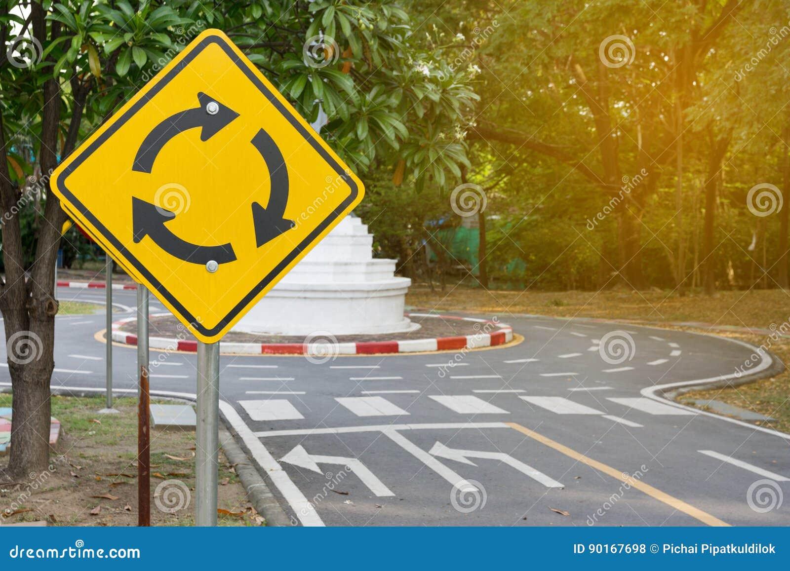 Trafikkaruselltecken