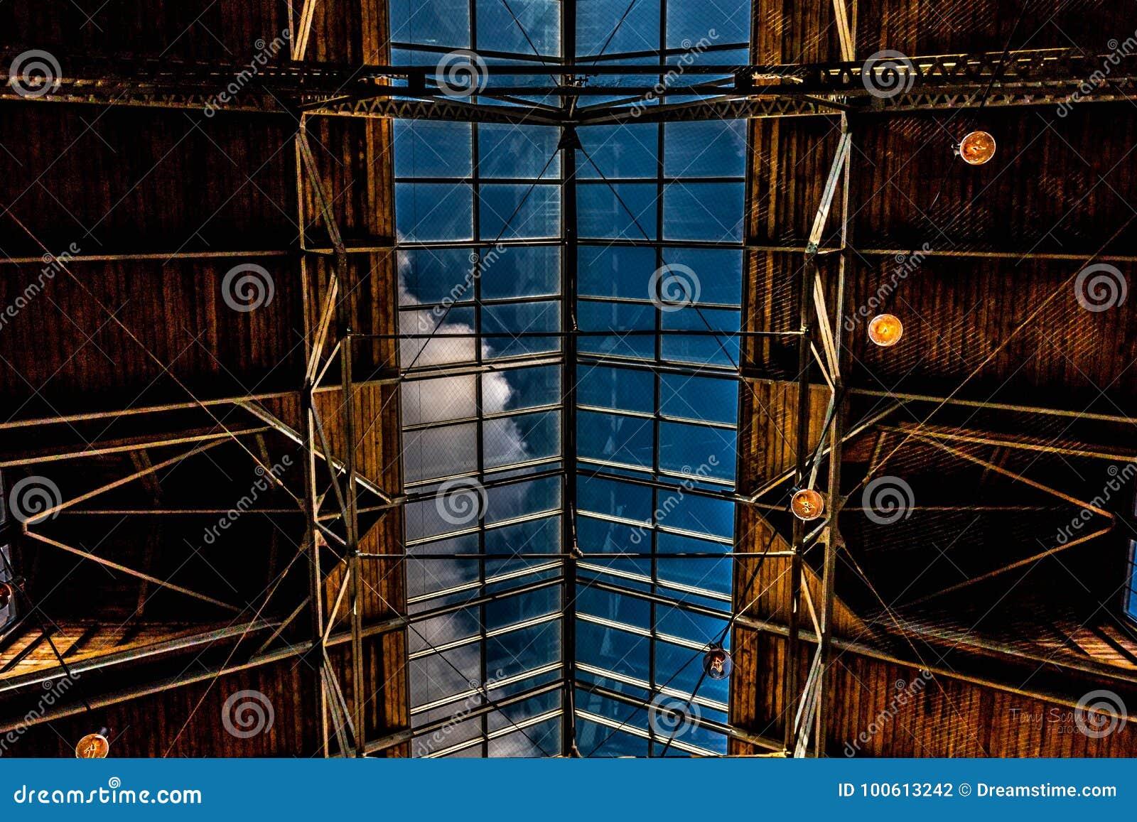 Tragaluz arquitectónico de Warehouse