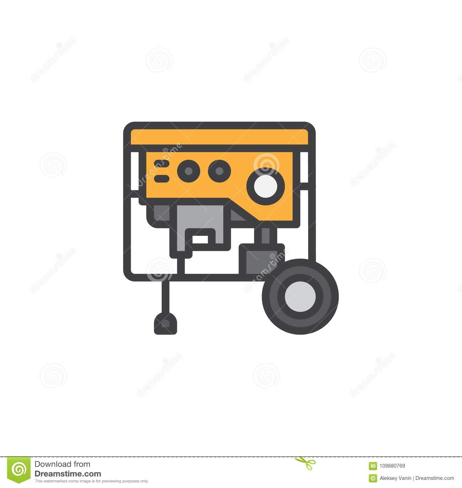 Wunderbar Stromgenerator Symbol Bilder - Elektrische Schaltplan ...