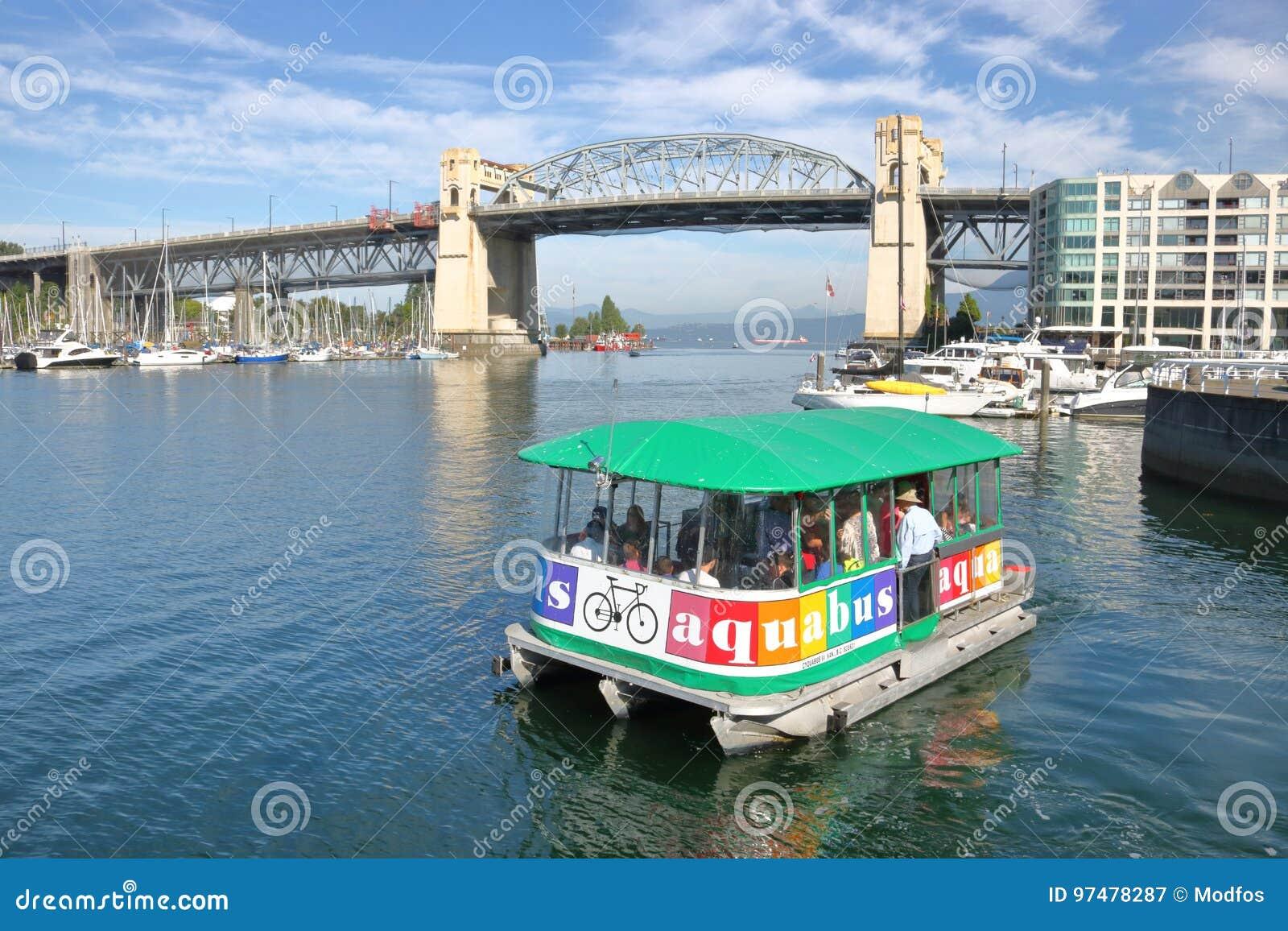Traghetto o Aqua Bus di False Creek