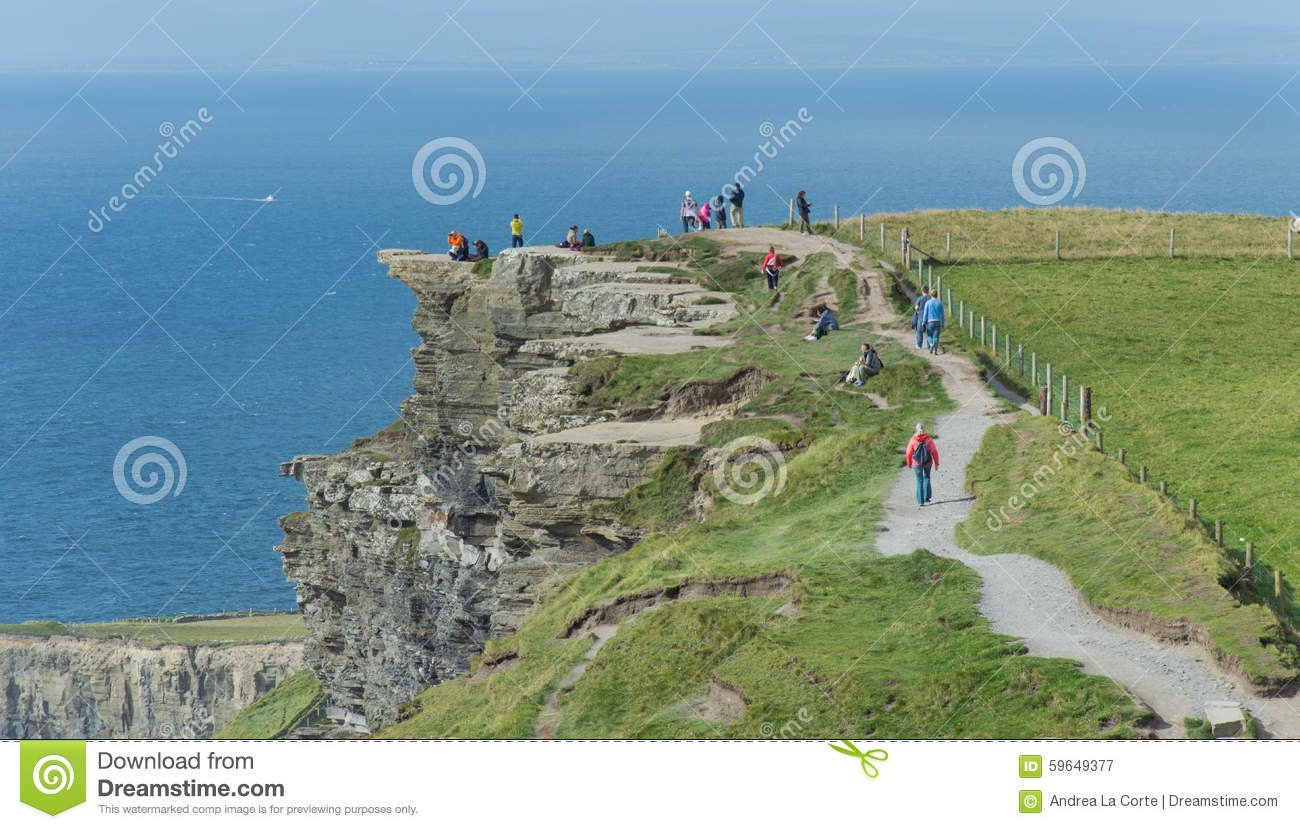 Trail on Cliffs of Moher editorial photography. Image of ... on rio de janeiro map, ring of kerry map, trinity college, dublin, skellig michael map, republic of ireland, ireland map, hill of tara map, dingle peninsula, blarney stone map, the burren map, aran islands, beara peninsula map, dublin castle, aillwee cave map, tirana map, mizen head map, ring of dingle map, galway map, cliffs of moor map, gdansk map, the burren, slieve league, aillwee cave, europe map, holy cross abbey, rock of cashel map, county kerry, kylemore abbey map,