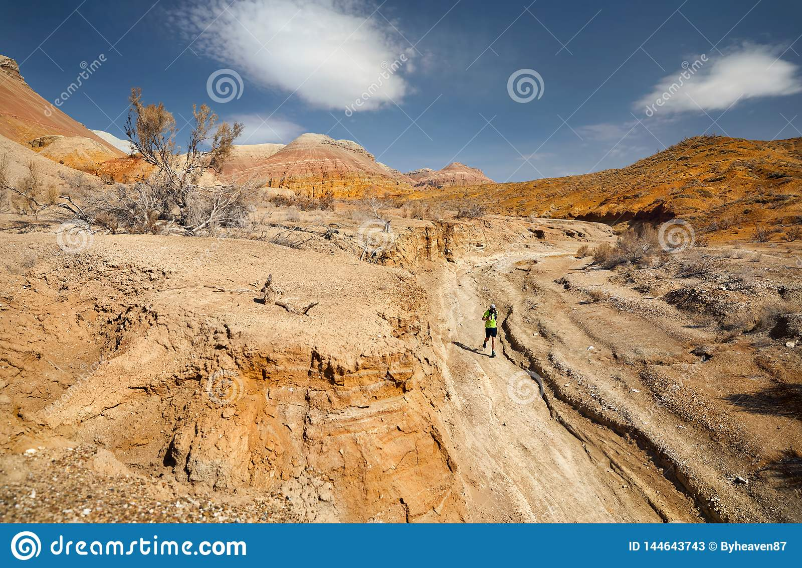 Trail running adventure