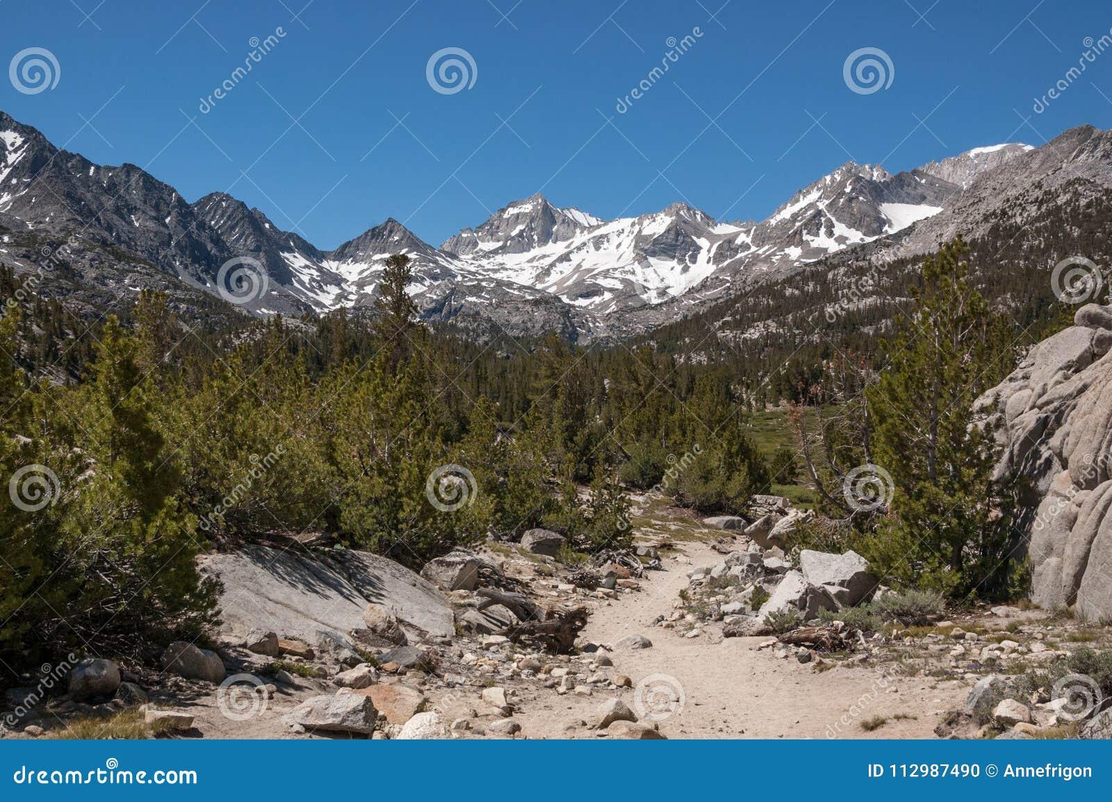 Trail to Mono Pass, Eastern Sierras, California