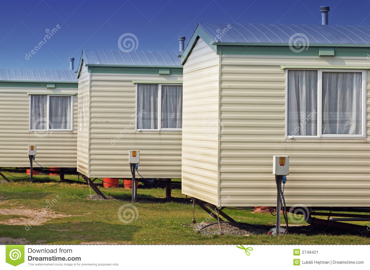 Trailer homes stock image  Image of stand, great, budget - 2749421