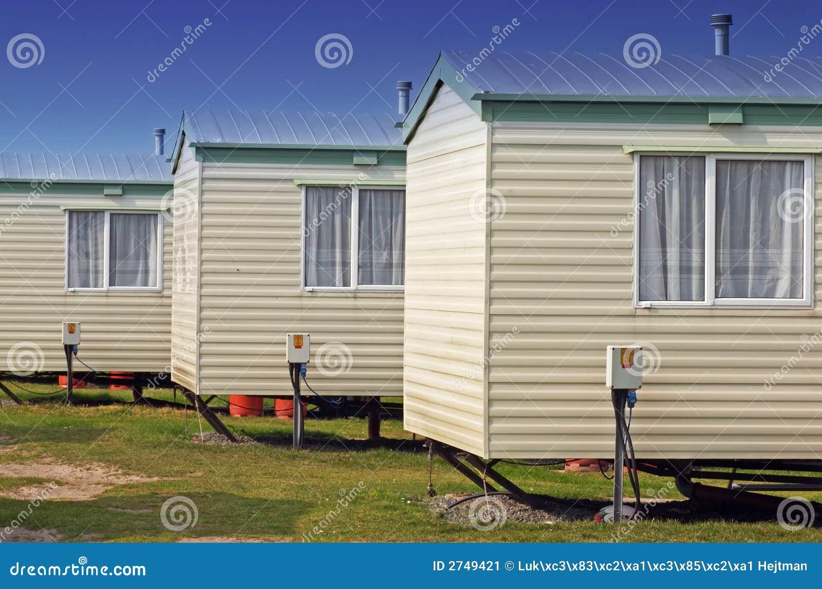 Trailer Homes Stock Image - Image: 2749421