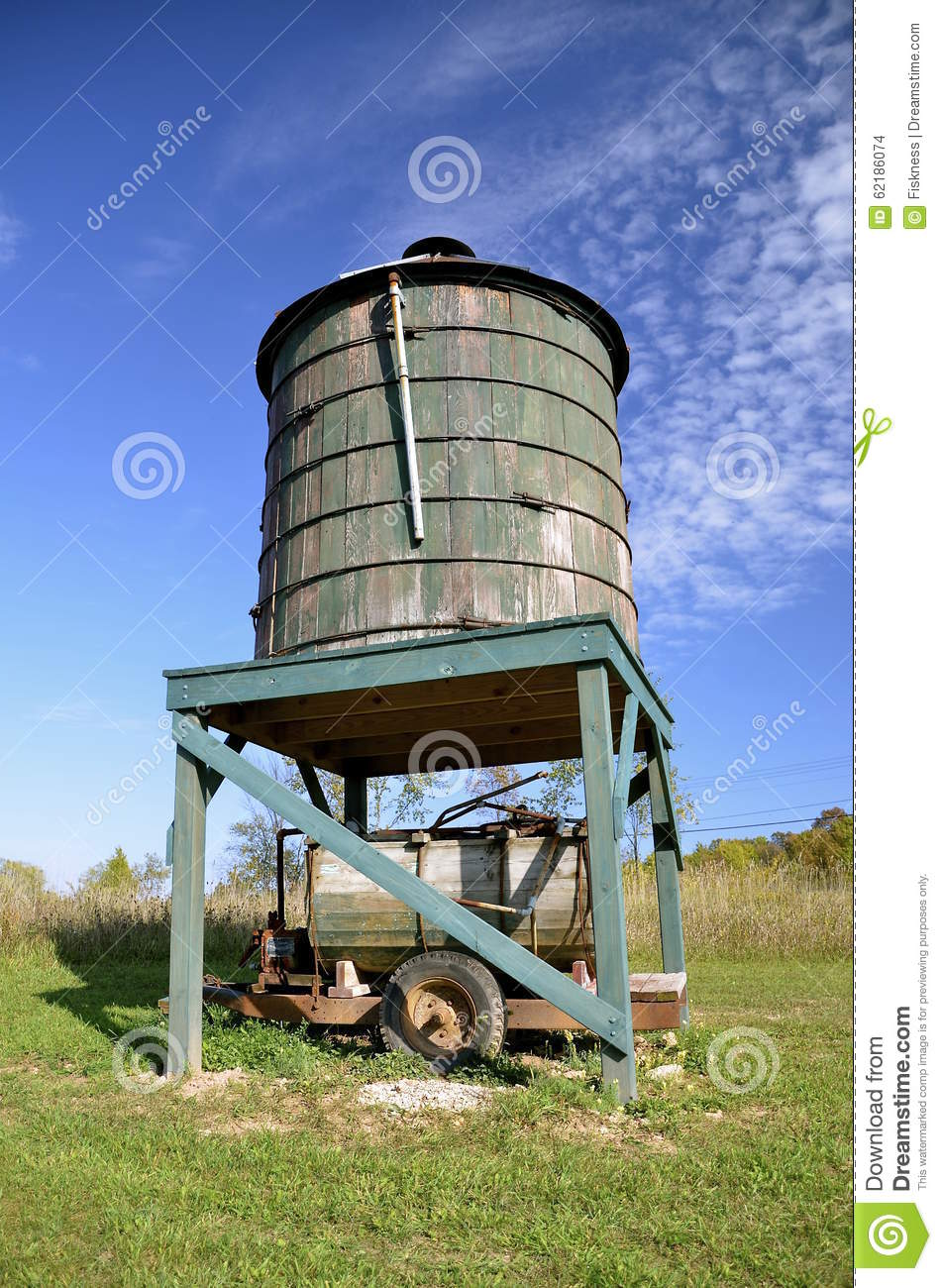 Water Barrel Trailer 100