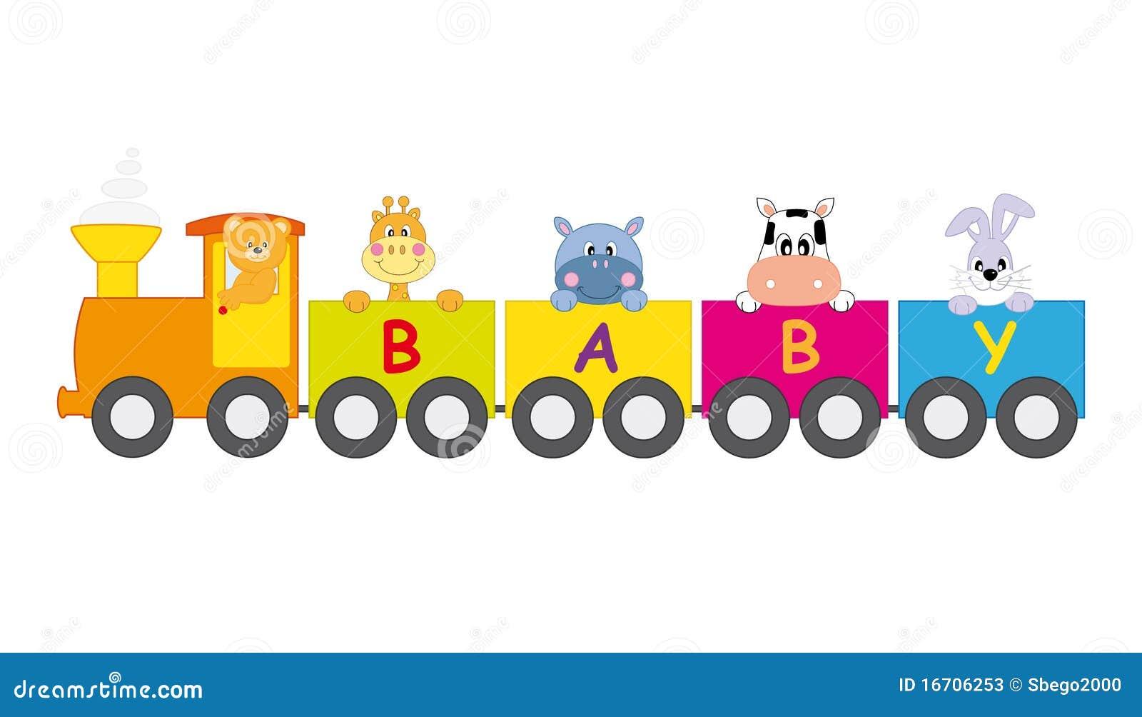 Train animals stock vector. Illustration of railroad ...
