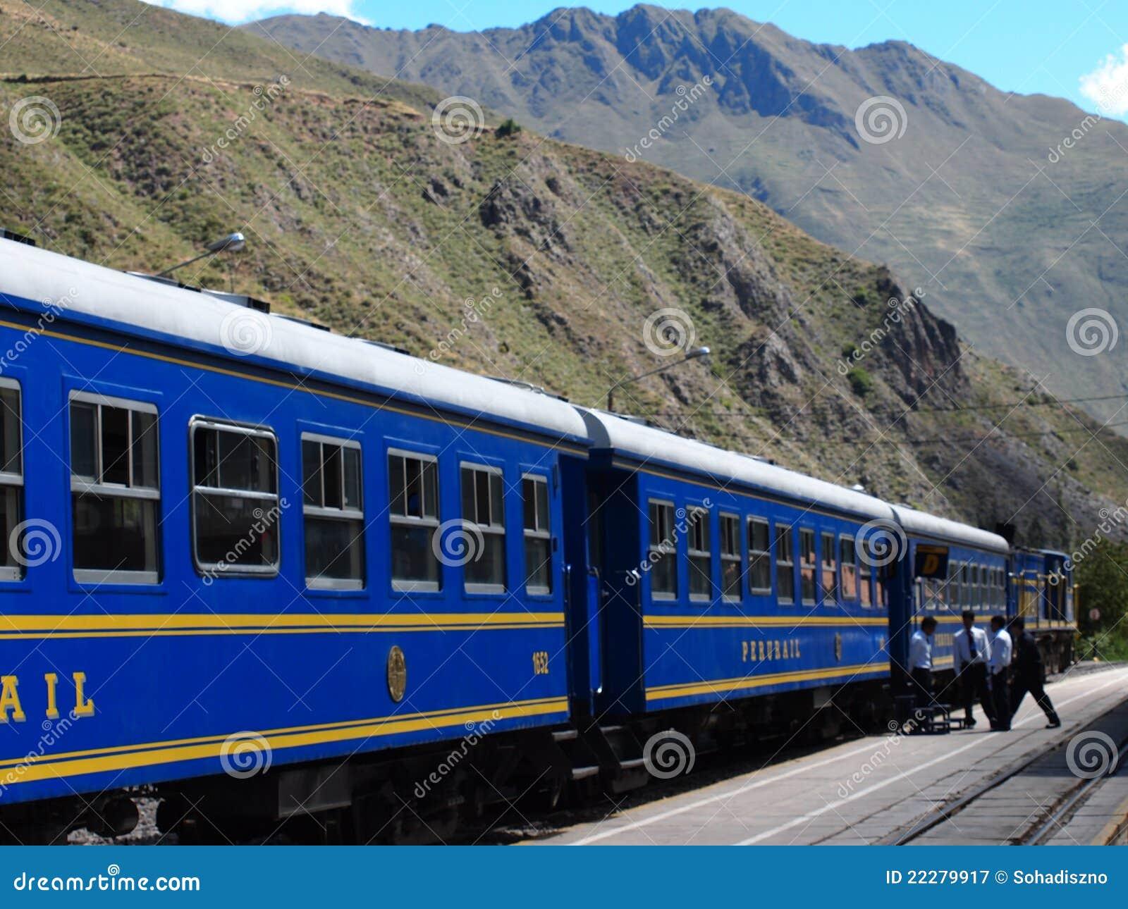 Train aux Aguas Calientes (Machu Picchu)