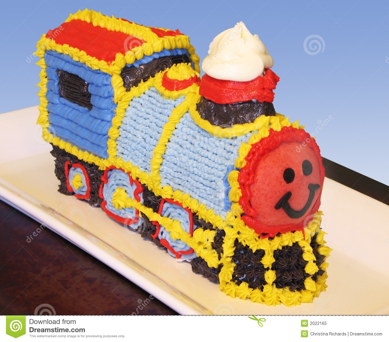 Fine Train Birthday Cake Stock Image Image Of Cook Colors 2022165 Funny Birthday Cards Online Fluifree Goldxyz