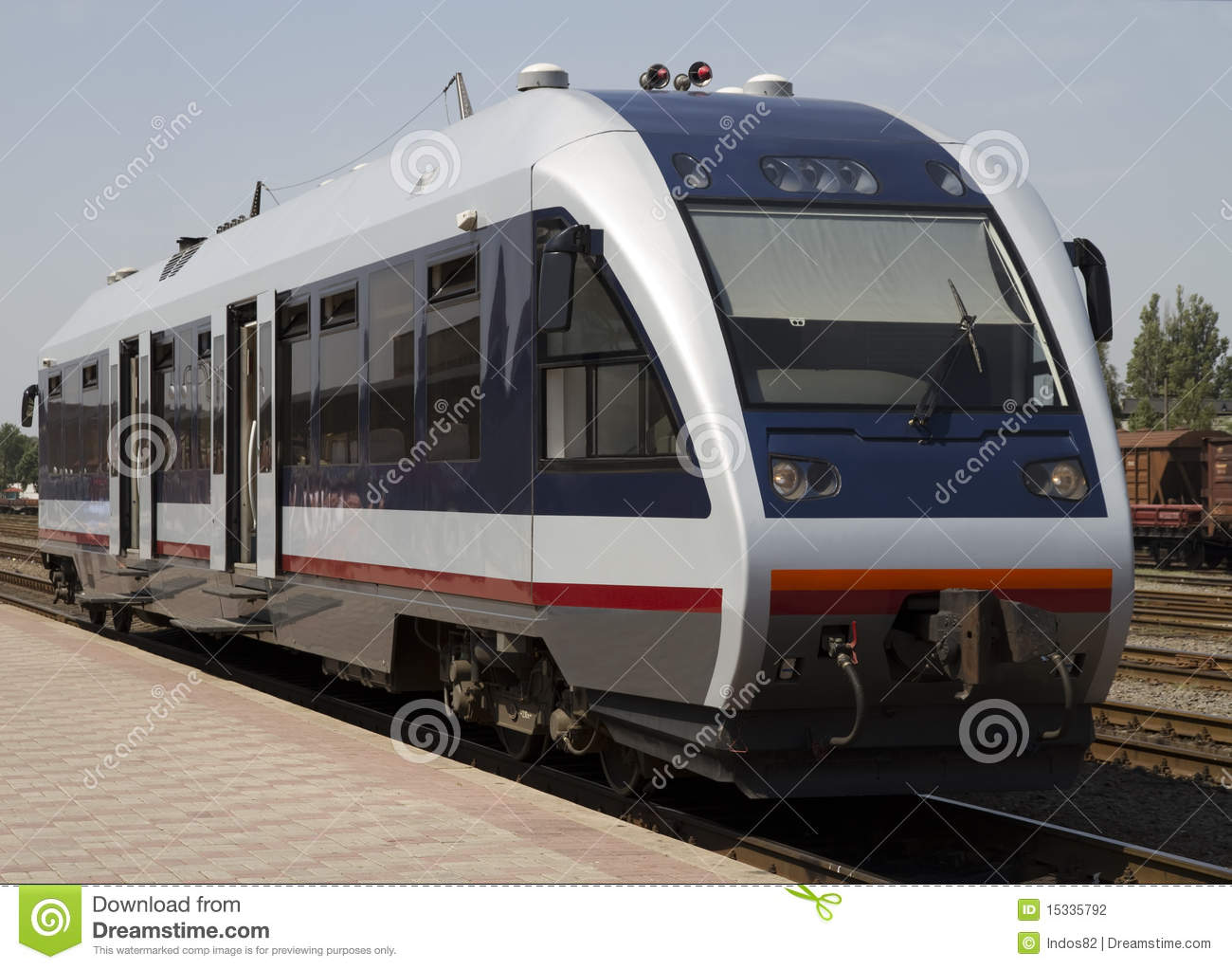 Train bus stock photo. Image of line, technology ...