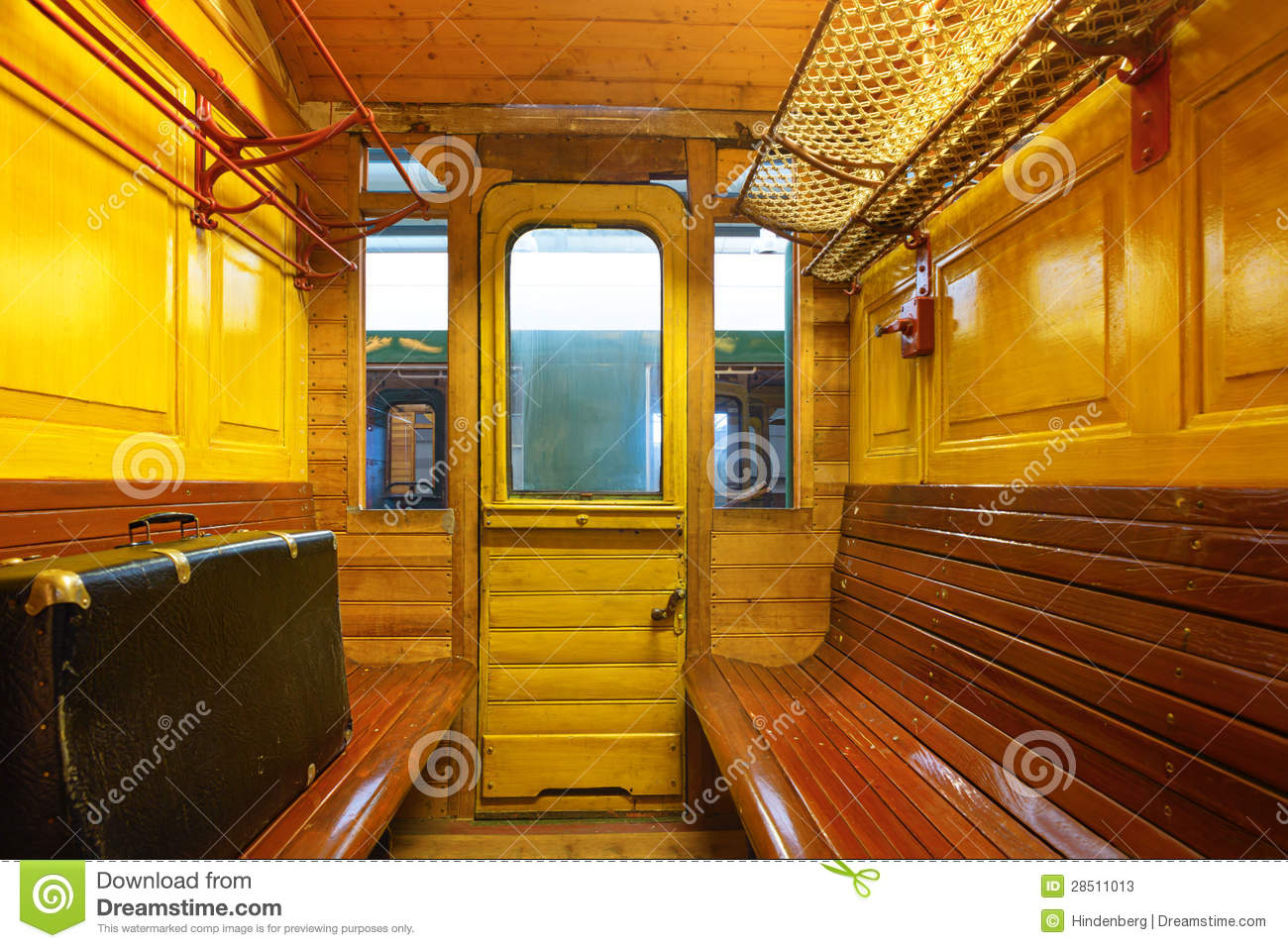 Rovos train compartment, South Africa