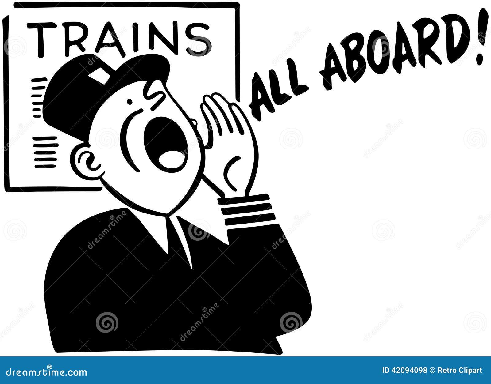 clipart of train conductors - photo #31