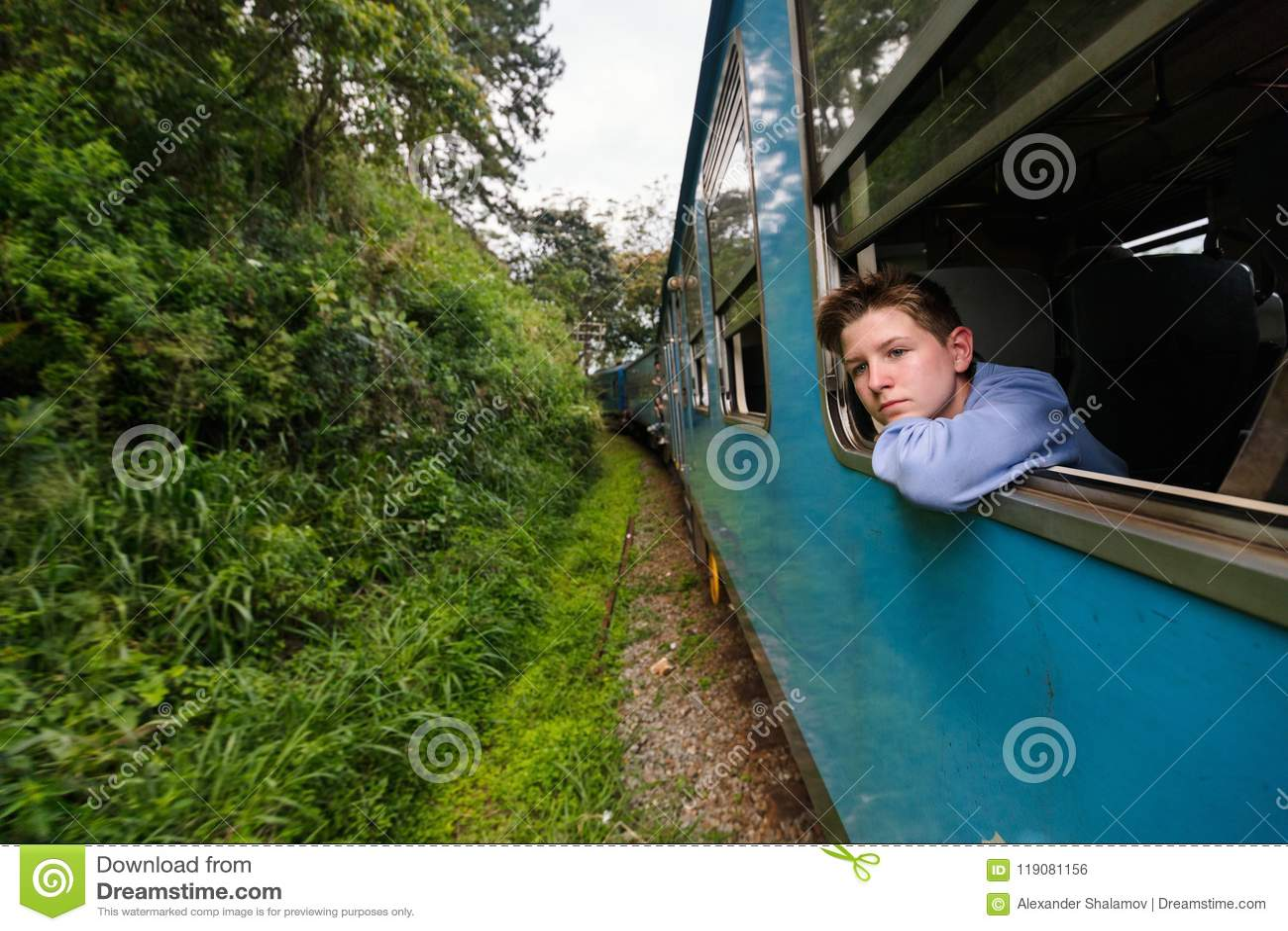 Train dans Sri Lanka