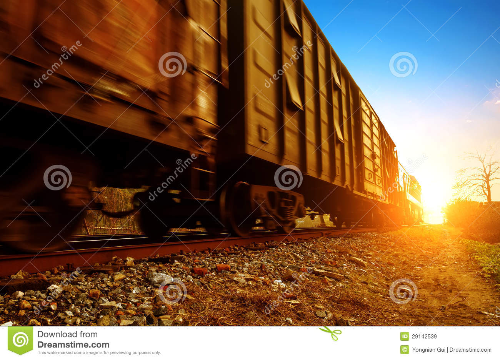 Train de fret
