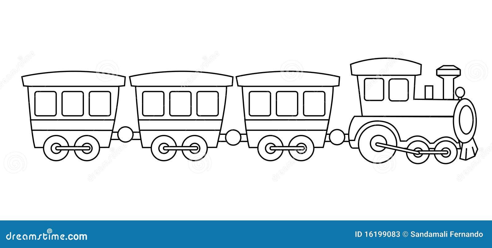 Train de jouet